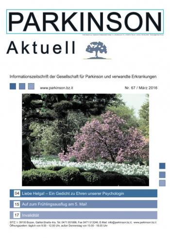 Parkinson Aktuell 2016-03-01 00:00:00 Parkinson Attualitá