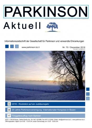 Parkinson Aktuell 2016-12-01 00:00:00 Parkinson Attualitá